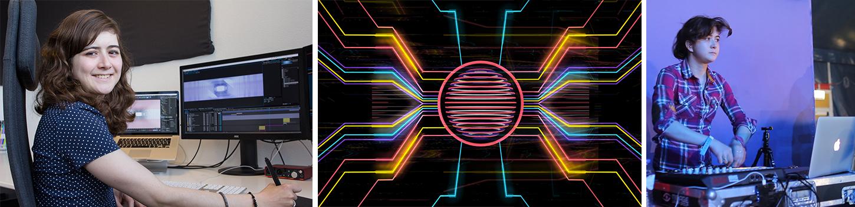 suzannetalens.nl - VJ en motion graphic designer