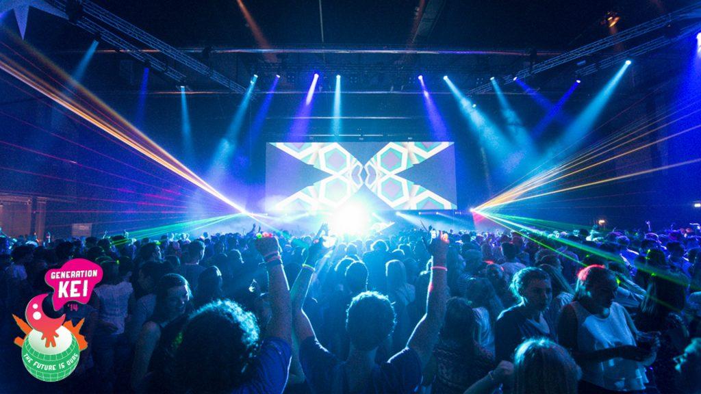 VJ gig – KEI week 2014