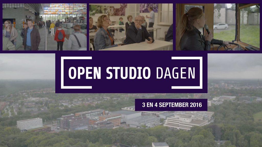 Teasers open studio dagen 2016