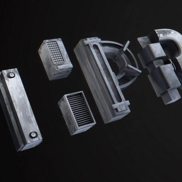 TH Producties – 3D logo design