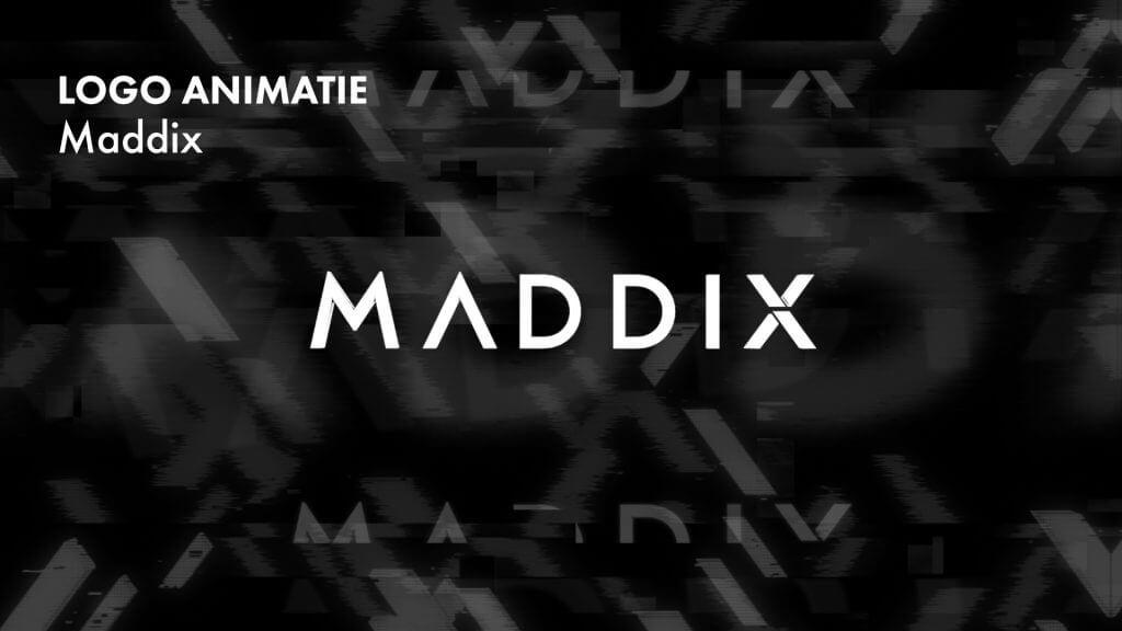 Logo animatie – Maddix