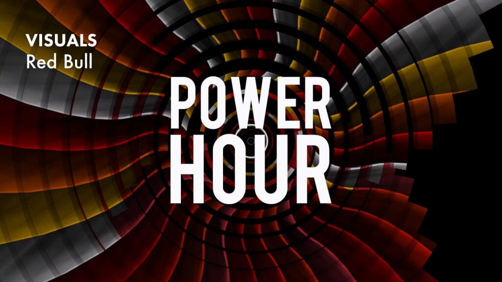 VJ gig – Red Bull Power Hour