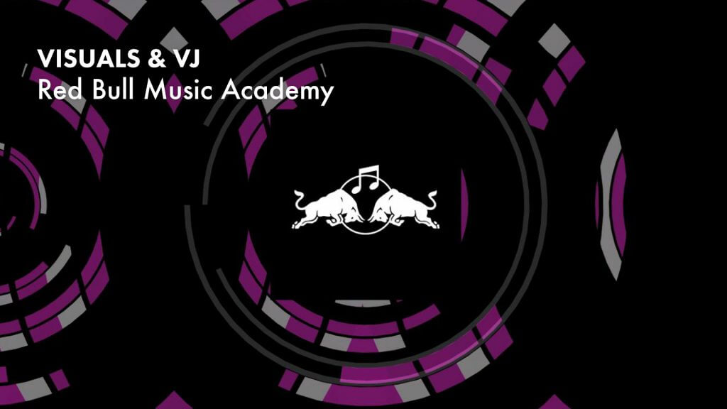 VJ gig – Red Bull Music Academy