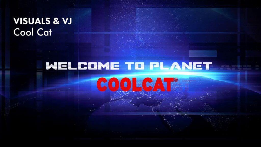 VJ gig @ Cool Cat Marktkantine