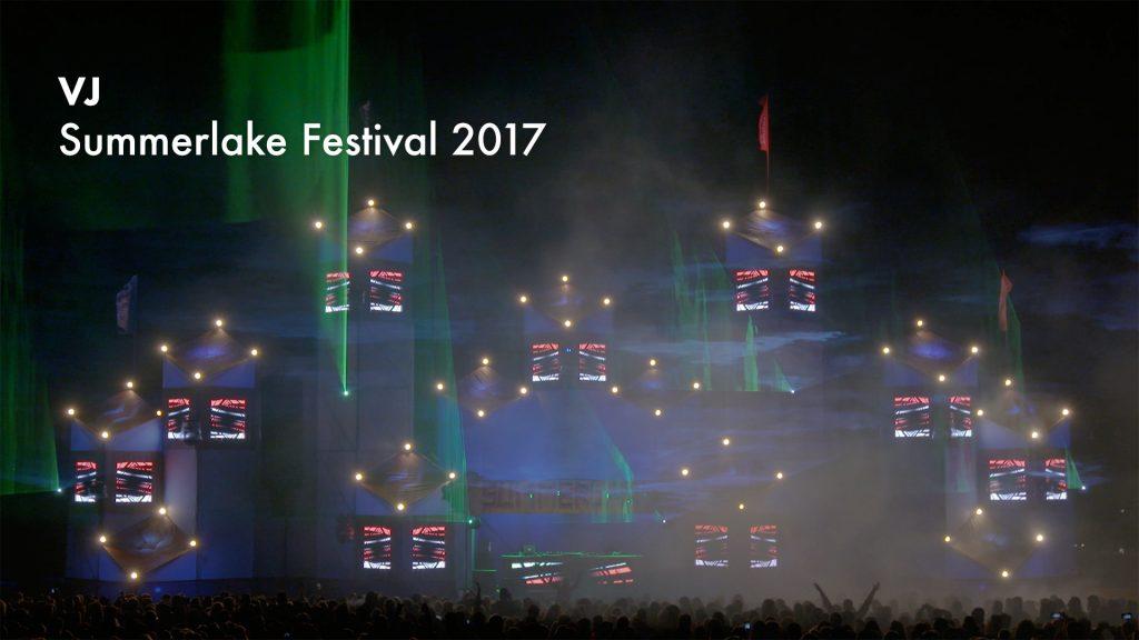VJ gig – Summerlake Festival 2017