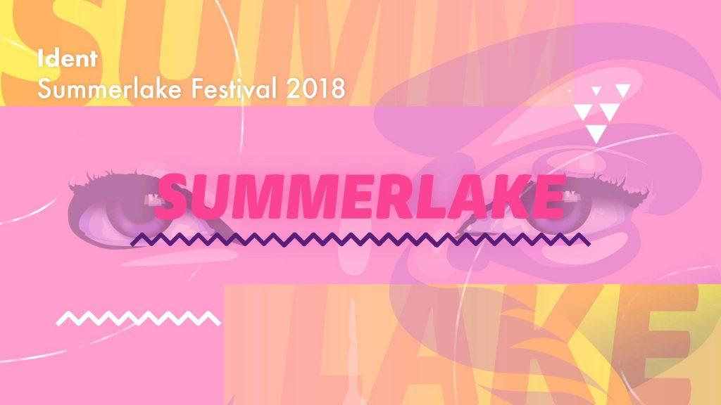 Ident – Summerlake Festival 2018